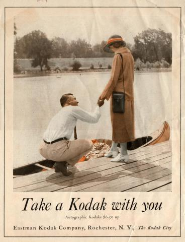 Kodak Autographic Advertisement