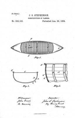 Stephenson Longitudinal Strip patent