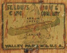 St. Louis Boat & Canoe decal