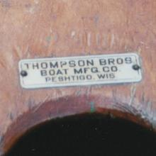 Thompson Brothers tag