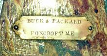 Buck and Packard tag