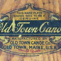 Old Town Canoe Company decal