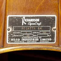 Richardson Aquacraft tag